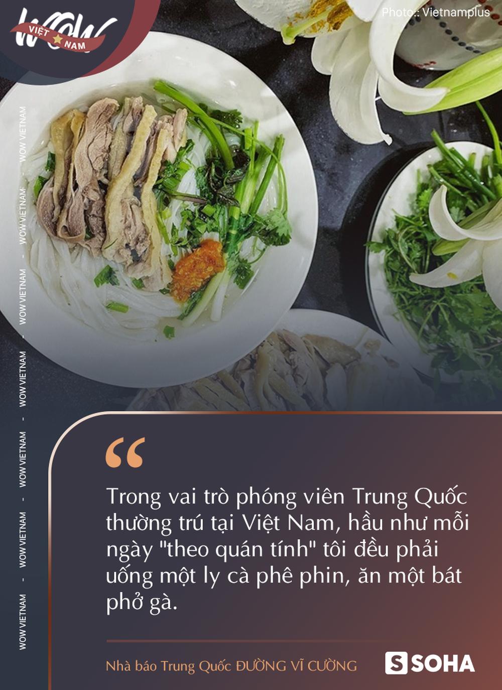 Ghiền món Việt, nhà báo Trung Quốc thốt lên: Cà phê và phở cho tôi thấy sự phát triển của Việt Nam - Ảnh 1.