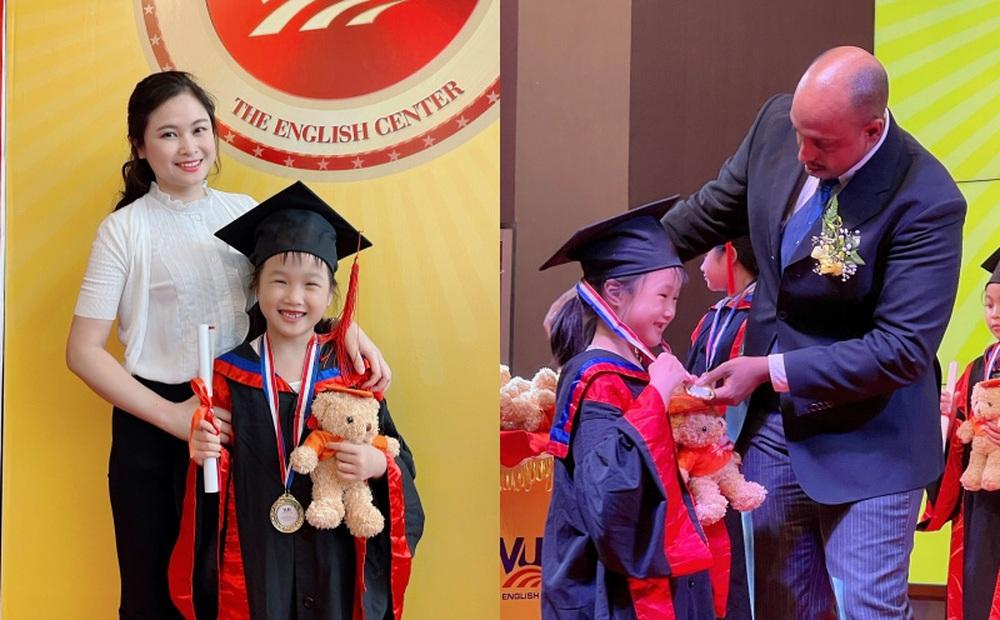Gặp cô con gái nói được 4 ngoại ngữ, 7 tuổi đoạt điểm tuyệt đối flyers của BTV Mùi Khánh Ly