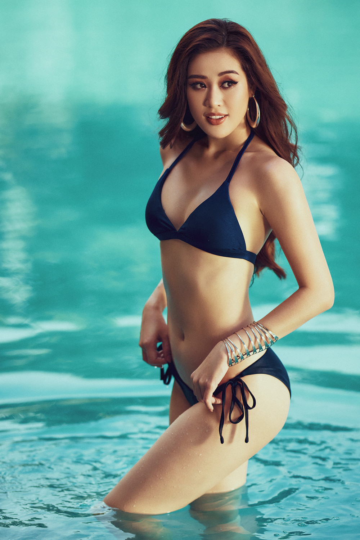 Hoa hậu Khánh Vân tung loạt ảnh bikini nóng bỏng - Ảnh 5.