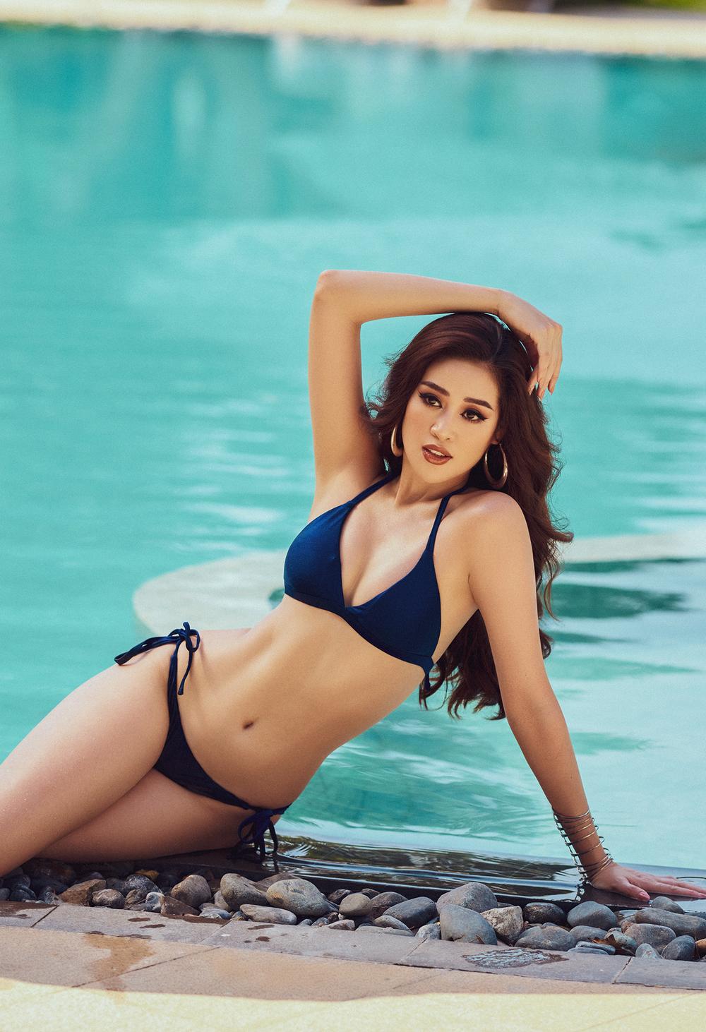 Hoa hậu Khánh Vân tung loạt ảnh bikini nóng bỏng - Ảnh 4.