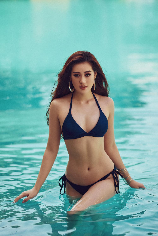 Hoa hậu Khánh Vân tung loạt ảnh bikini nóng bỏng - Ảnh 6.