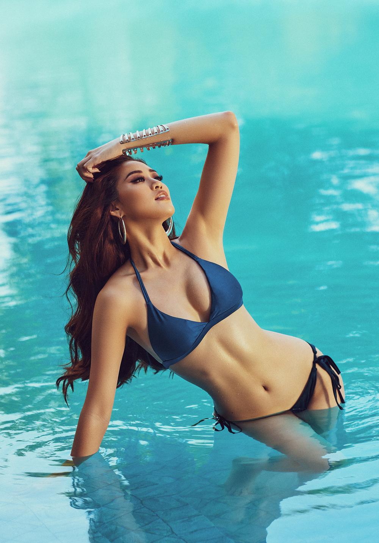 Hoa hậu Khánh Vân tung loạt ảnh bikini nóng bỏng - Ảnh 7.