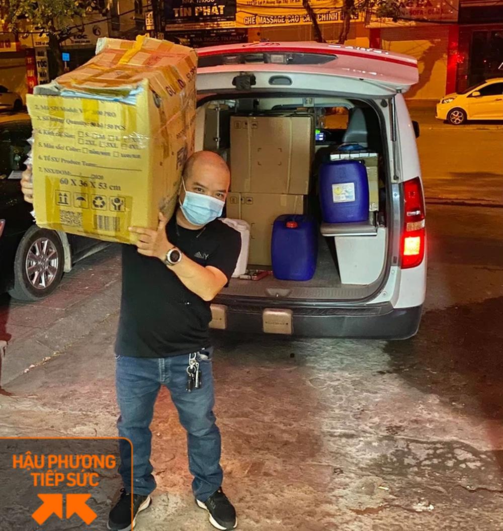 Trốn vợ con, 2 tài xế chạy xe cứu thương từ Nghệ An ra chi viện cho tâm dịch Bắc Giang - Ảnh 5.