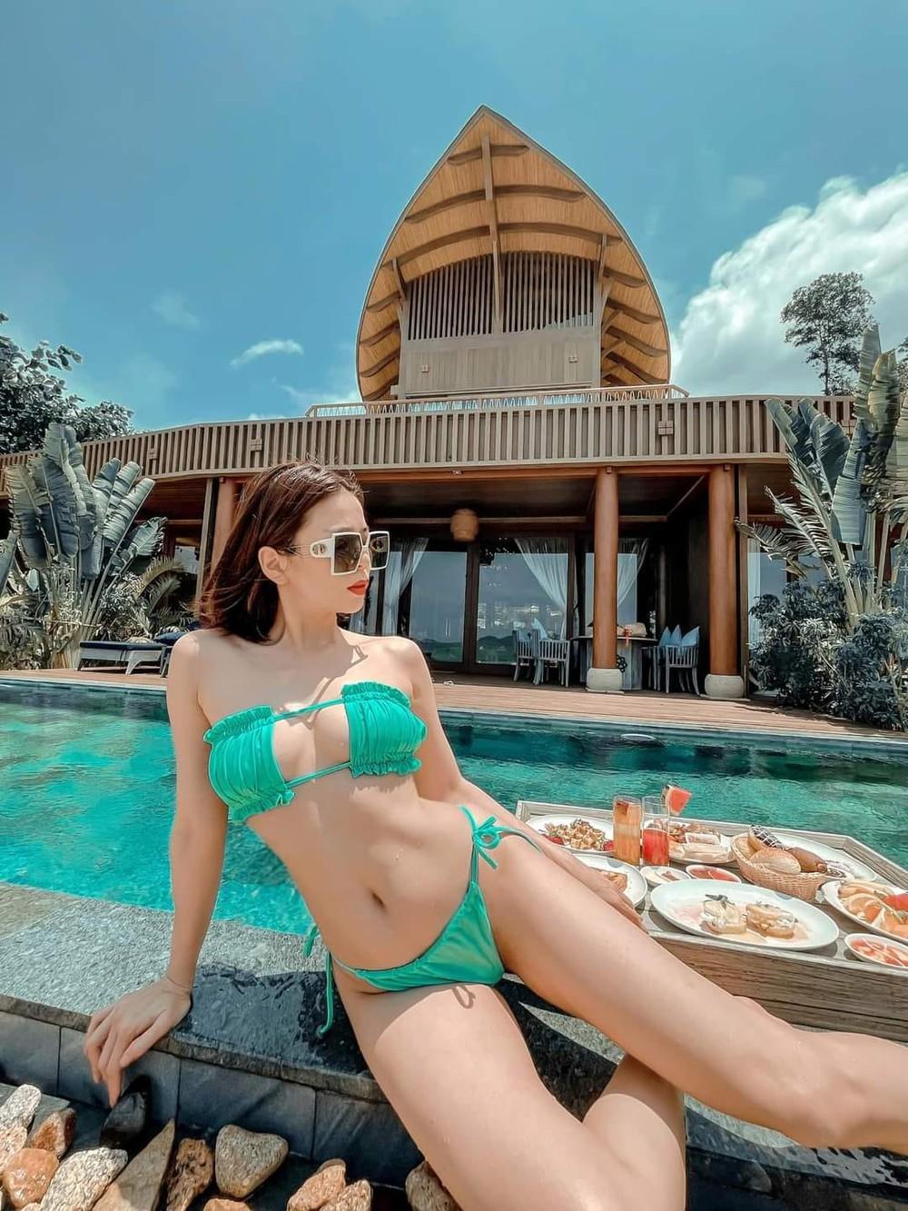 Bị chê vì liên tục diện bikini hở bạo, Lệ Quyên tinh tế đáp trả, khiến netizen gật gù tán thành - Ảnh 1.