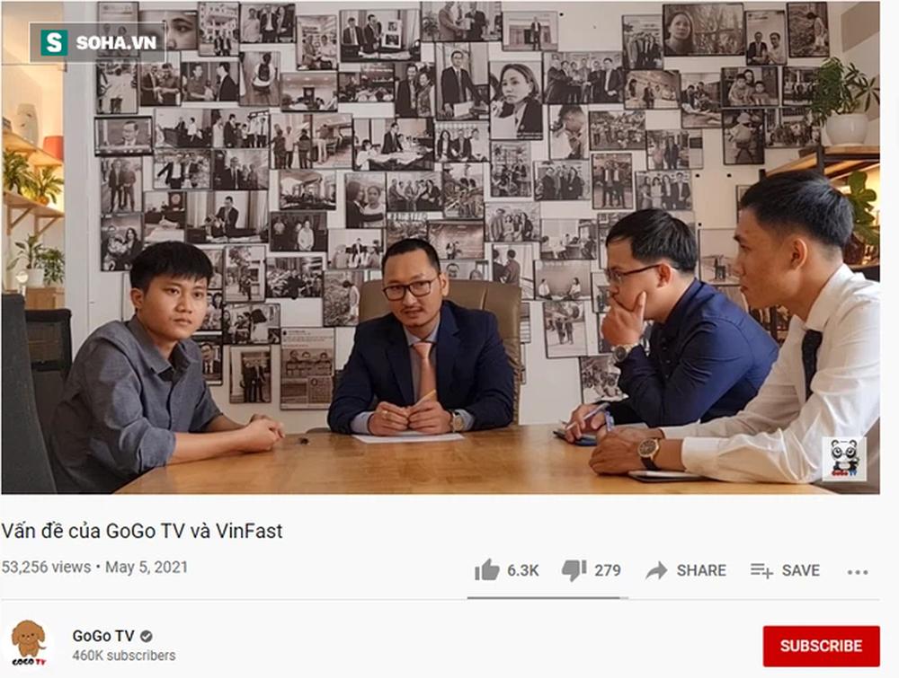 Chủ kênh GoGo TV và luật sư mong tìm được tiếng nói chung với VinFast - Ảnh 1.