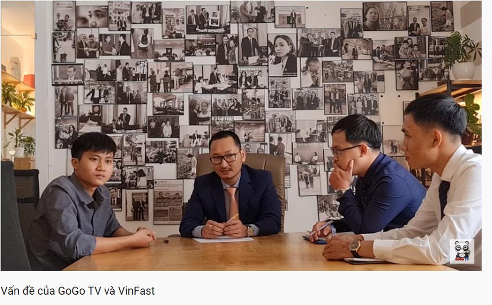 Chủ kênh GoGo TV và luật sư mong tìm được tiếng nói chung với VinFast