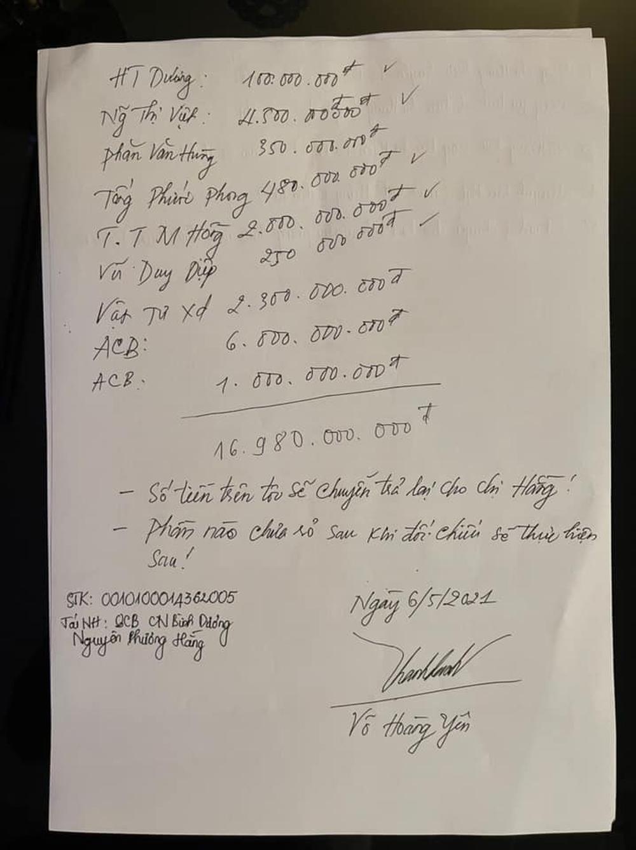 Lương y Võ Hoàng Yên đã chuyển trả vợ chồng đại gia Dũng lò vôi gần 17 tỷ đồng? - Ảnh 2.