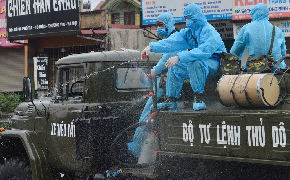 Nam Định: Giãn cách xã hội thị trấn Cổ Lễ sau khi phát hiện ca mắc COVID-19 cộng đồng đầu tiên