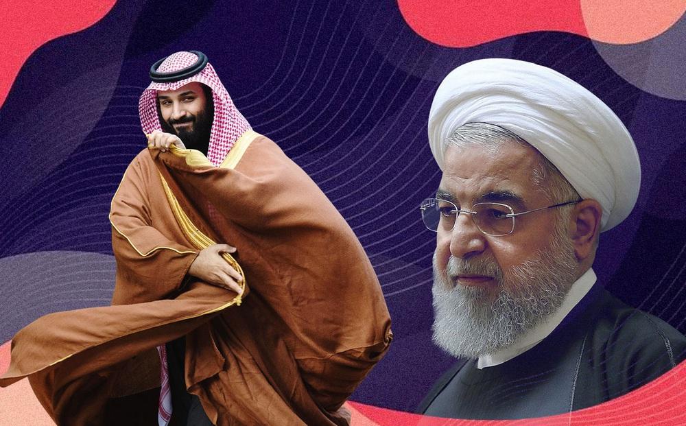 """Đang đối đầu khốc liệt, vì sao Ả Rập Saudi """"xuống nước"""" làm lành với kẻ thù truyền kiếp Iran?"""