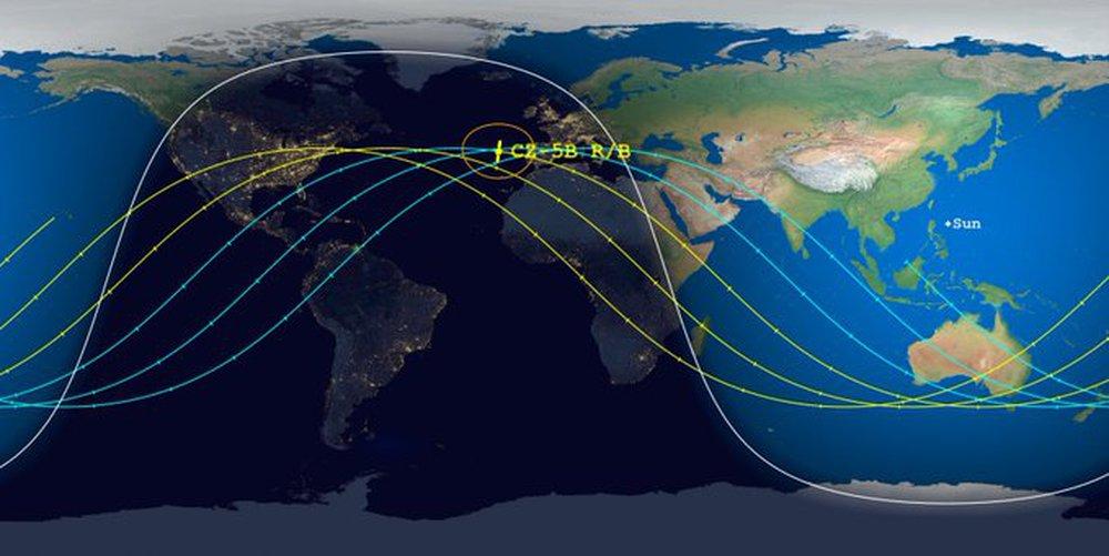Tin mới nhất về thời gian, địa điểm tên lửa Trung Quốc rơi xuống: Đông Nam Á có thể gặp nguy! - Ảnh 3.