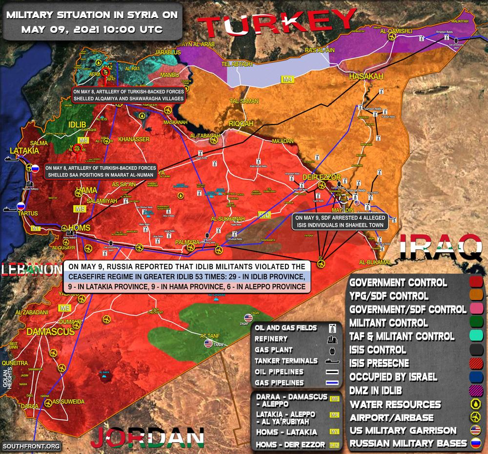 Vòng xoáy mới trong cuộc chiến Syria: Hải quân Nga buộc phải ra tay cứu nguy - Ảnh 2.