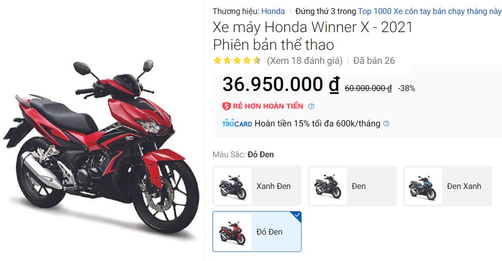 Honda Winner X giảm giá sốc còn 36 triệu đồng - Ảnh 3.