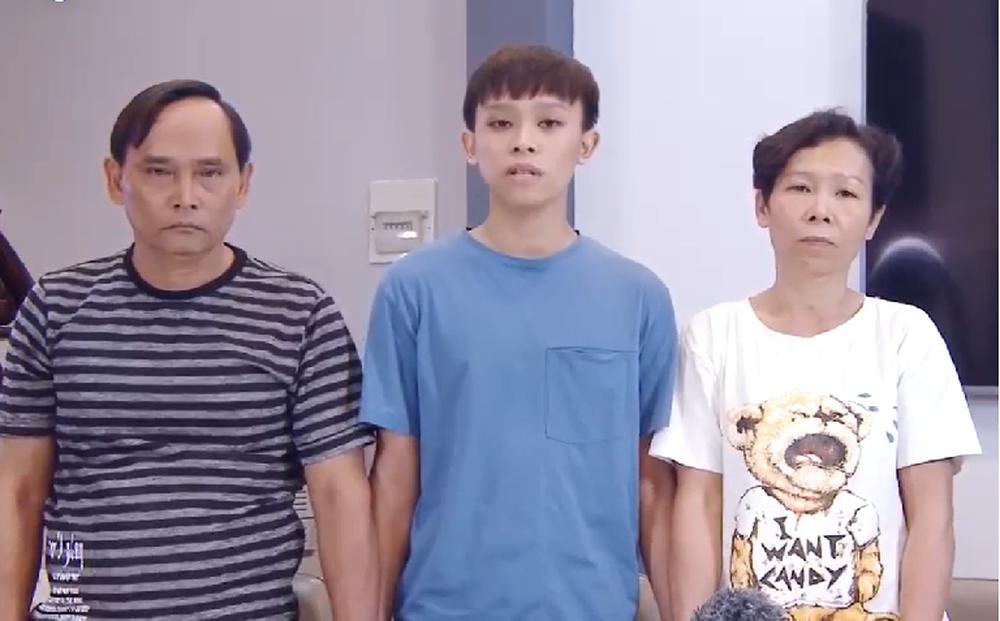 """Hồ Văn Cường và bố mẹ ruột tung clip tố cáo: Bị """"chị ruột"""" dụ dỗ làm hại, xin lỗi Phi Nhung"""