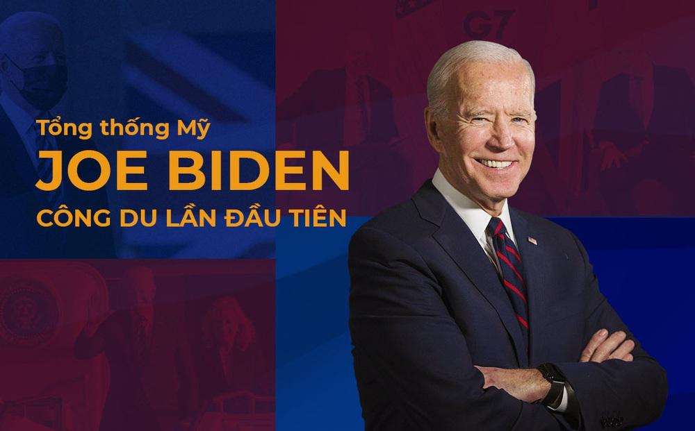 Tổng thống Biden công du châu Âu: Giải bài toán Trung Quốc, phép thử từ đồng minh và tính toán với nước Nga