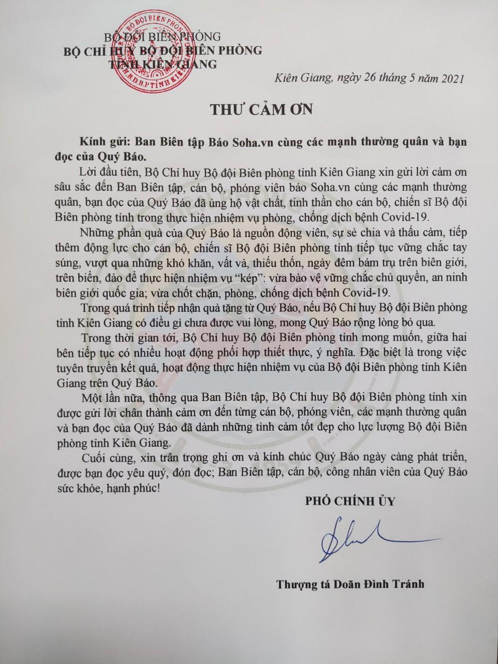 Lời tri ân từ Bộ đội biên phòng Tây Nam và các chiến binh xét nghiệm Bắc Giang - Ảnh 9.