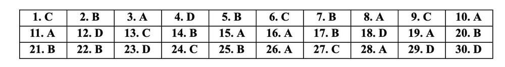 [CẬP NHẬT] Gợi ý đáp án đề thi môn Tiếng Anh vào lớp 10 năm 2021 ở Hà Nội - Ảnh 2.