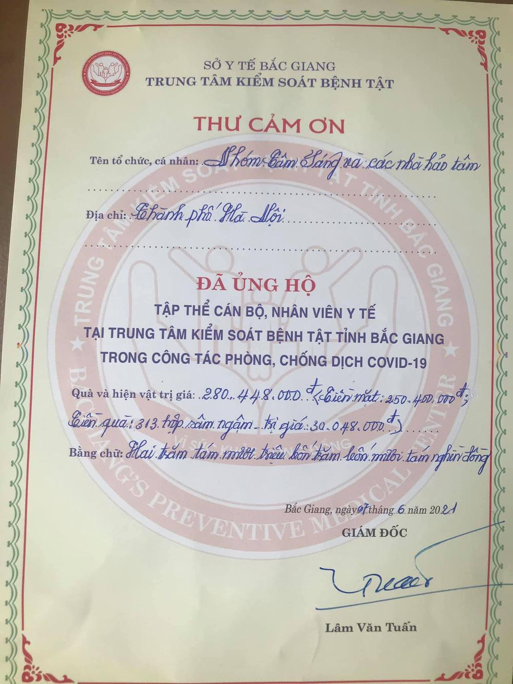 Lời tri ân từ Bộ đội biên phòng Tây Nam và các chiến binh xét nghiệm Bắc Giang - Ảnh 12.