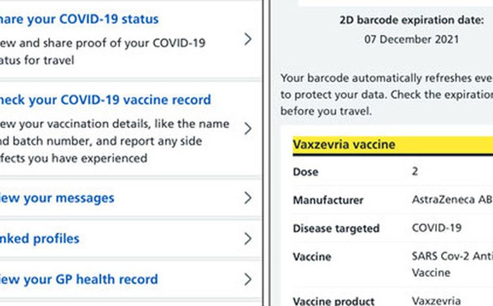 Tung tăng với hộ chiếu vắc-xin