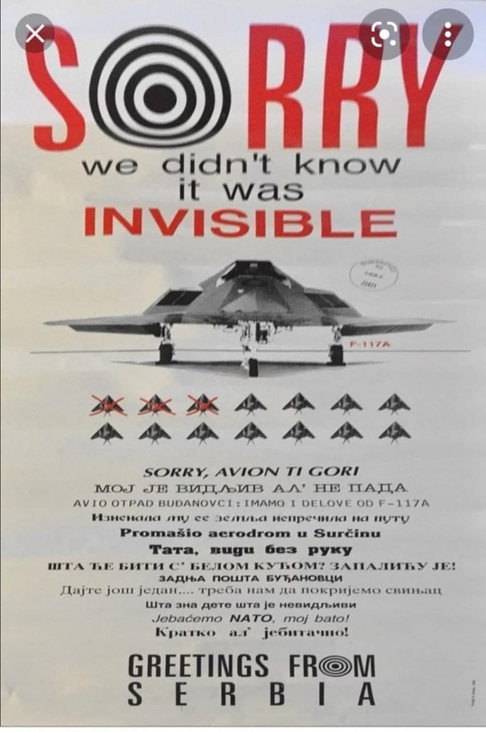 Thực hư tin đồn có tới 3 chiếc F-117A của Mỹ đã bị phòng không Serbia vít cổ? - Ảnh 1.