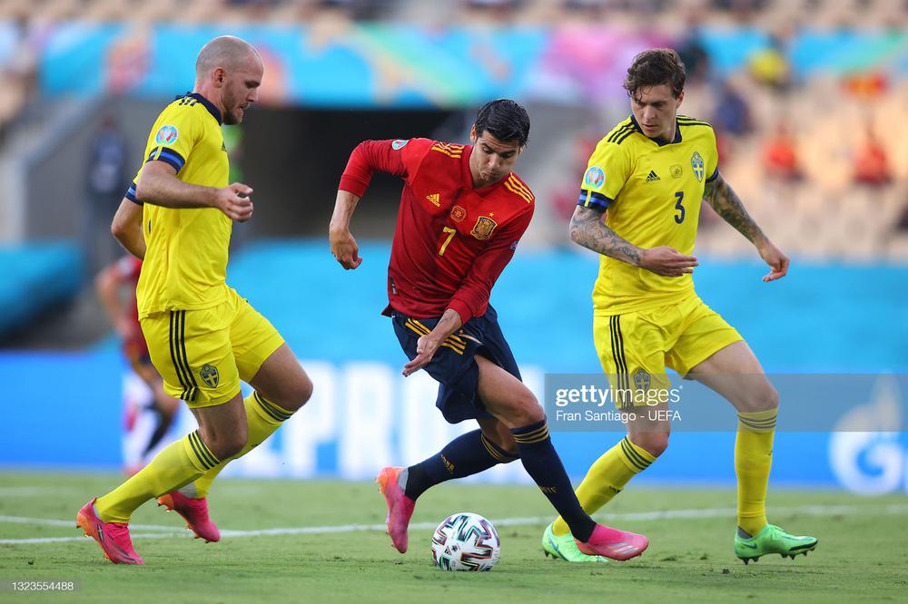 Euro 2020: Chân gỗ Morata báo hại Tây Ban Nha trong trận đấu kỳ lạ - Ảnh 2.