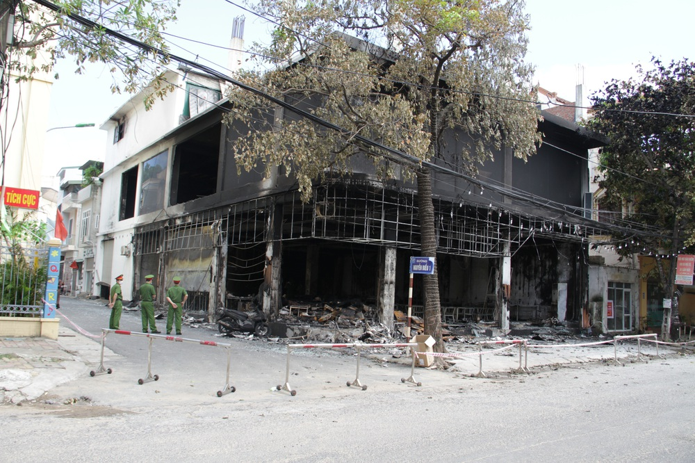 Vụ cháy khiến 6 người tử vong ở Nghệ An: Các nạn nhân bị chết ngạt vì khói trước khi bị lửa tác động - Ảnh 2.