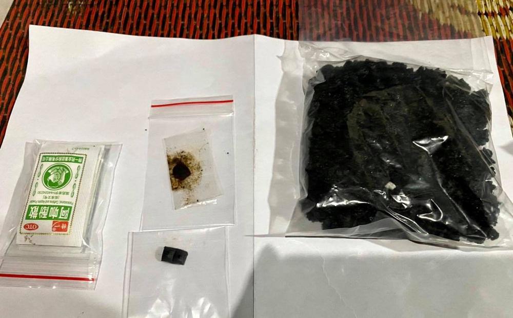 Cảnh sát bắt quả tang nhóm đối tượng sử dụng ma túy, thu giữ 1 khẩu súng kíp