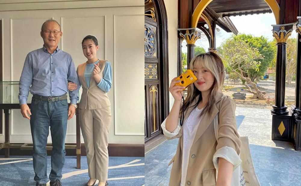 Tình cờ gặp HLV Park Hang-seo trong nhà hàng, cô gái có lời đề nghị và cái vẫy tay của ông thầy người Hàn