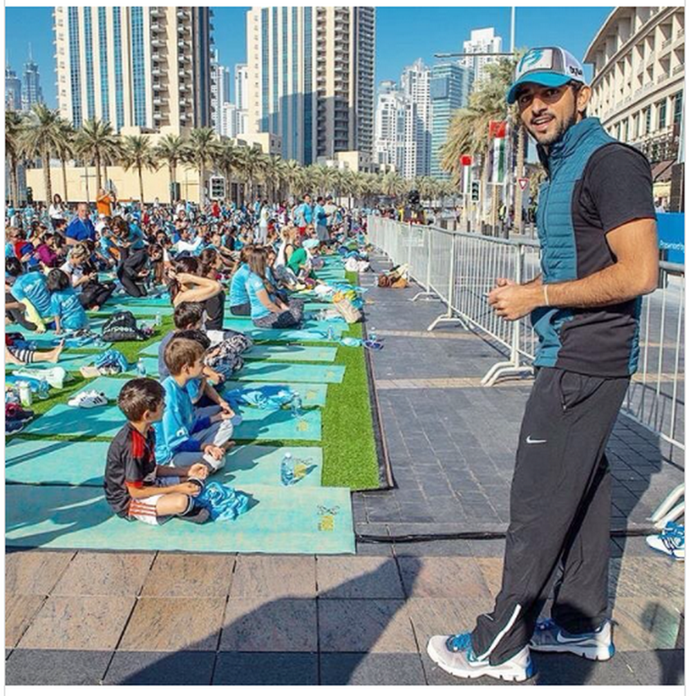 """Một ngày bình thường của Thái tử Dubai """"đạt chuẩn soái ca"""" vạn người mê - Ảnh 8."""
