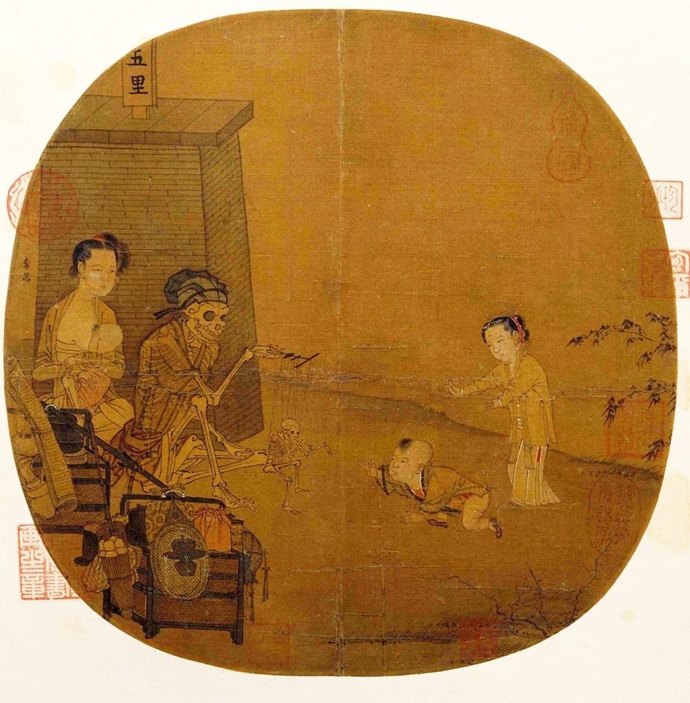 Bức tranh Quỷ trong Bảo tàng Cố cung, hơn 800 năm ai xem cũng không hiểu, phóng to gấp 10 lần mới phát hiện chi tiết đáng kinh ngạc - Ảnh 4.