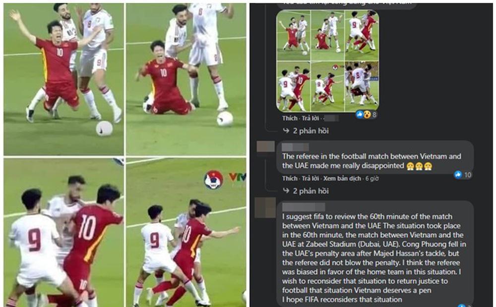 CĐV Việt Nam tràn vào page FIFA World Cup quyết lấy lại penalty cho Công Phượng