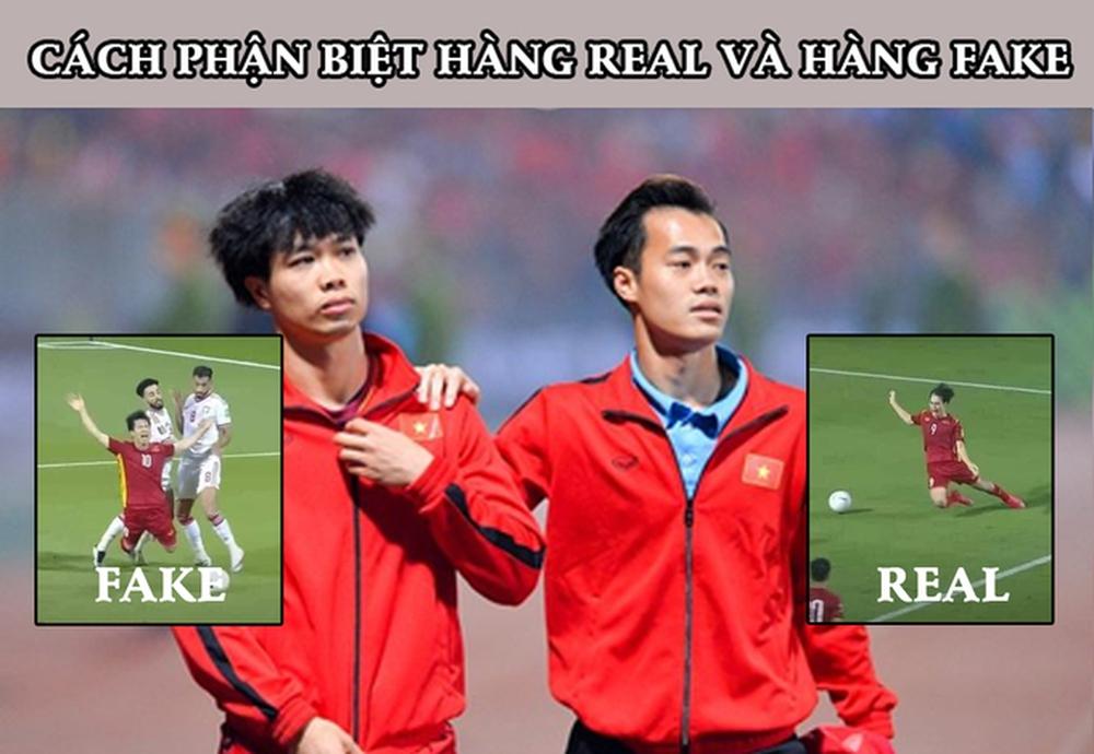 Văn Toàn cà khịa Công Phượng, fan Việt Namcười chảy nước mắt vì loạt ảnh chế hùa theo - Ảnh 3.