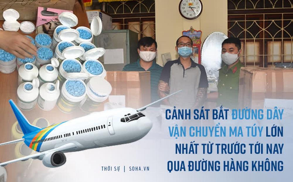 Triệt phá đường dây ma túy lớn nhất từ Châu Âu về Việt Nam qua đường hàng không