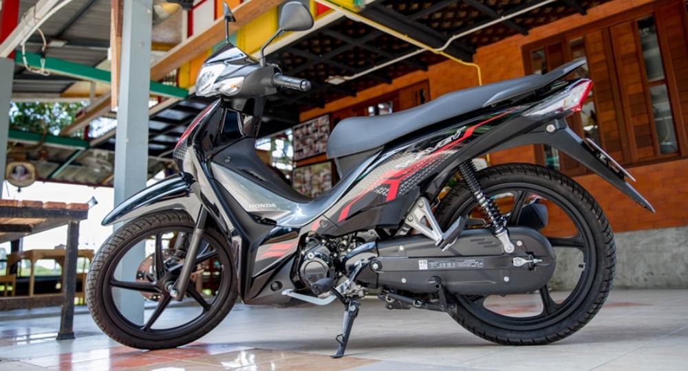 Mẫu xe máy Thái đi 100km hết 1,3 lít xăng, giá 27 triệu đồng, chặt đẹp Honda Wave Alpha - Ảnh 11.