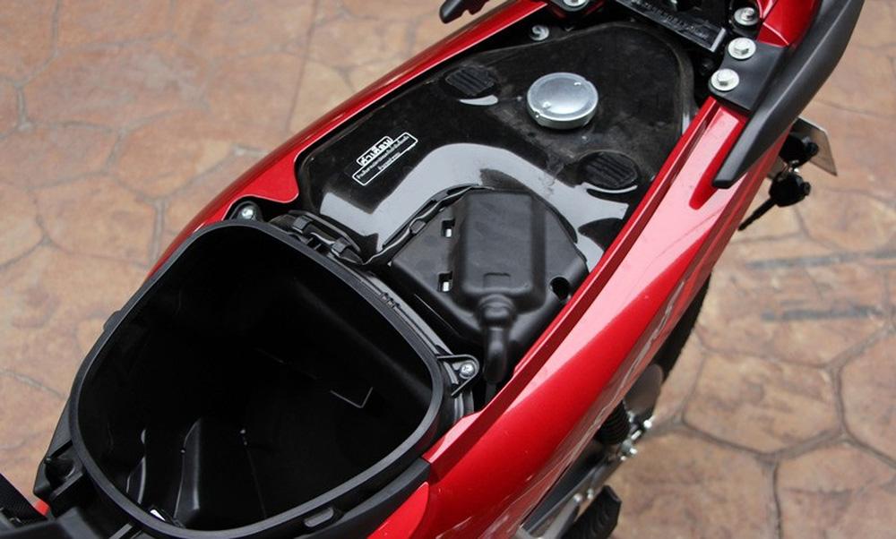Mẫu xe máy Thái đi 100km hết 1,3 lít xăng, giá 27 triệu đồng, chặt đẹp Honda Wave Alpha - Ảnh 10.