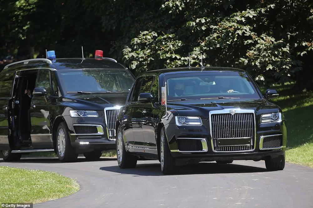"""Siêu xe """"Quái thú"""" của ông Biden và """"Rolls Royce Nga"""" của ông Putin: Xe nào vượt trội hơn? - Ảnh 6."""