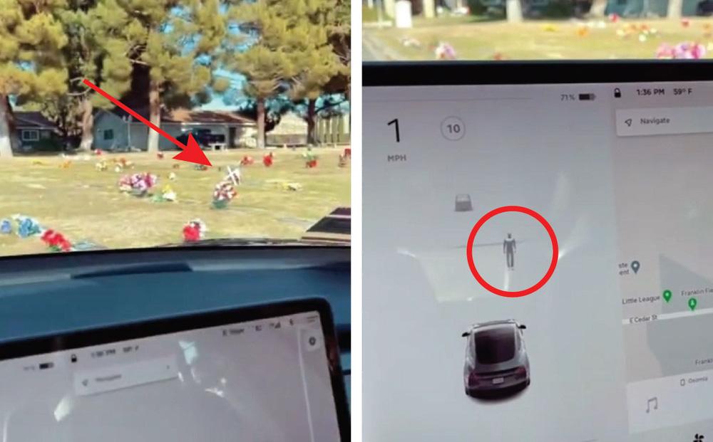 Đi vào bãi tha ma, cảm biến radar của Tesla phát hiện ra điều 'rùng rợn' - chuyện gì xảy ra?