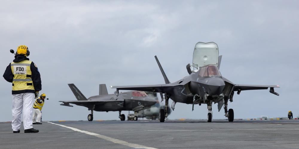 Bất ngờ hành động của QĐ Nga khi tiêm kích F-35 NATO tính vuốt râu hùm ở Biển Đen! - Ảnh 1.