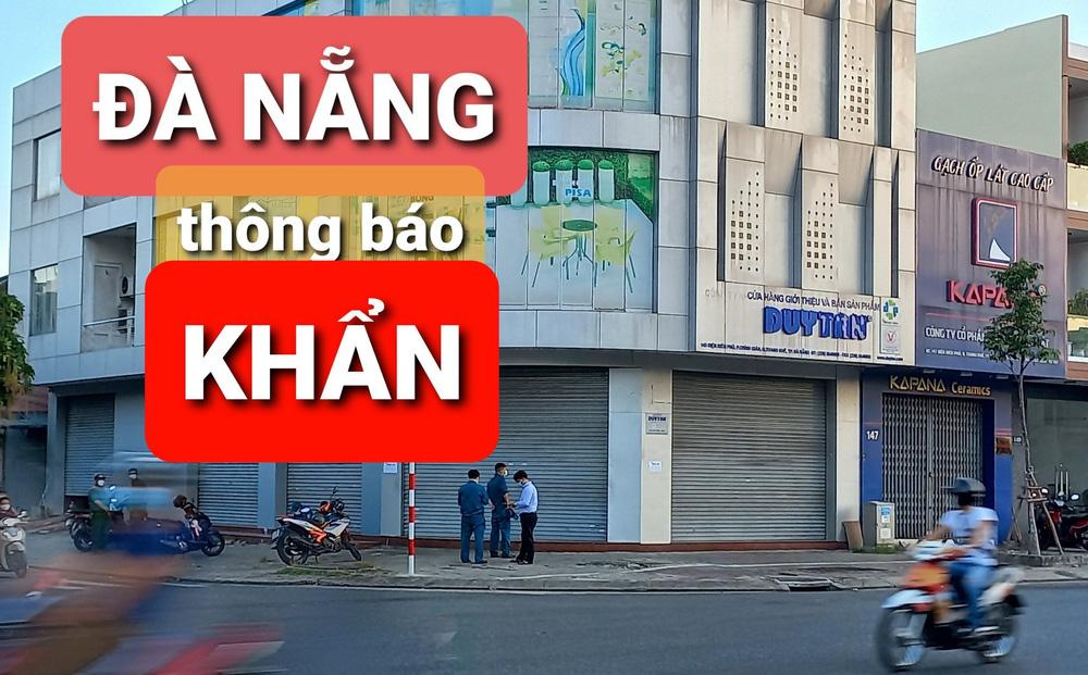 Đà Nẵng phát thông báo khẩn tìm người đến 3 địa điểm liên quan ca Covid-19 mới