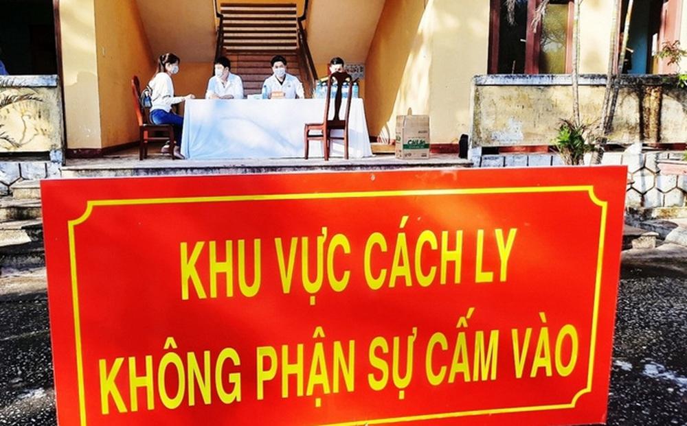 Quảng Nam xuất hiện ca mắc Covid-19 trong cộng đồng