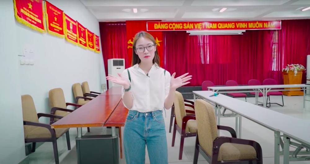 Hot girl VTV Khánh Vy: Tôi nghe xong thấy suy sụp vì điều ấy là hoàn toàn không thể - Ảnh 1.