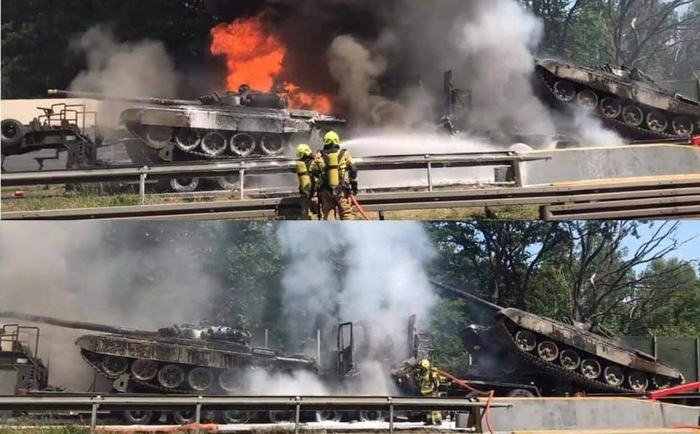 Báo Nga hả hê: Nga còn chưa xâm lược, Ba Lan đã mất hai xe tăng