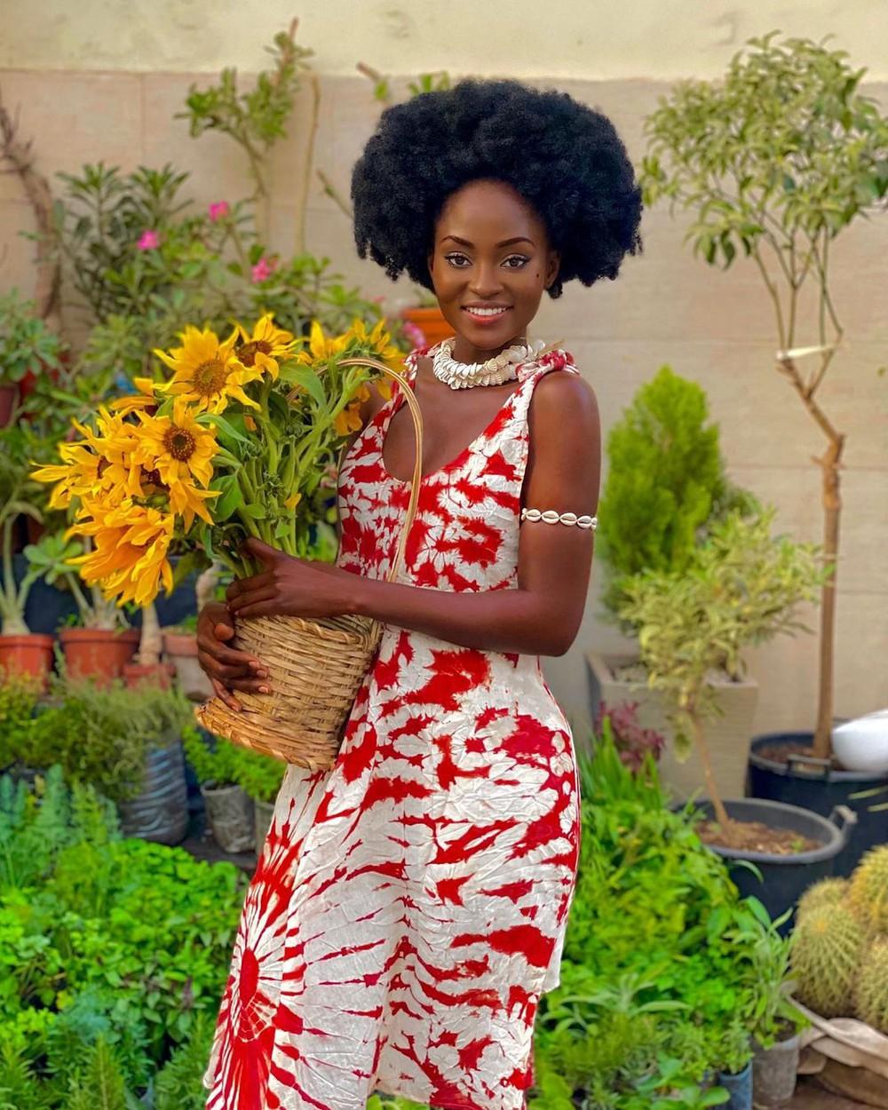 Cô gái Châu Phi đẹp không tì vết, cực nóng bỏng đang gây sốt thật sự là ai?  - Ảnh 7.