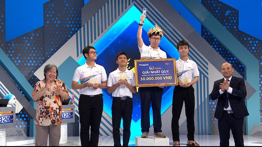 Lùm xùm dàn xếp câu hỏi trong cuộc thi quý Olympia, nhân vật chính lên tiếng về khoảnh khắc cuối cùng - Ảnh 1.
