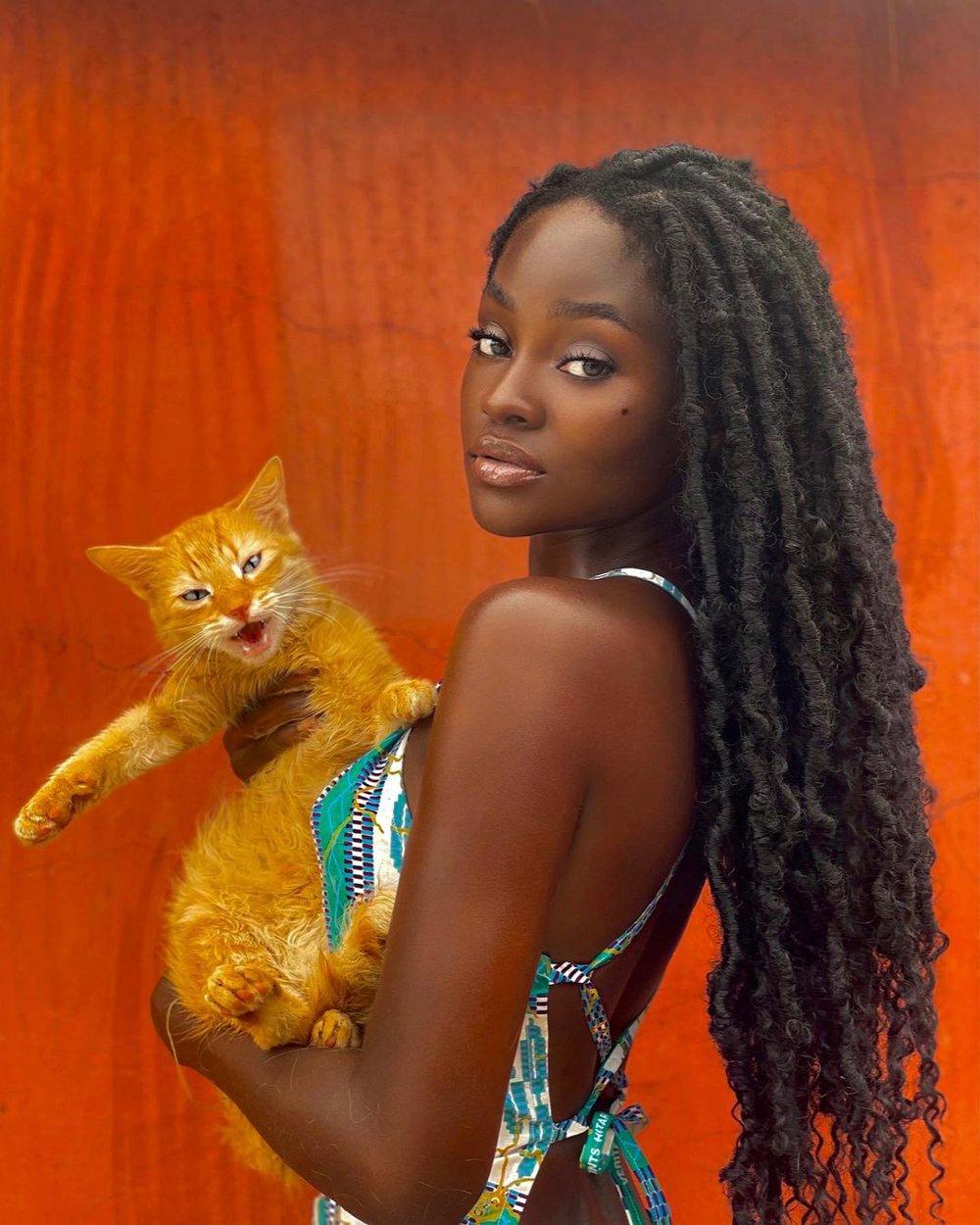 Cô gái Châu Phi đẹp không tì vết, cực nóng bỏng đang gây sốt thật sự là ai?  - Ảnh 12.