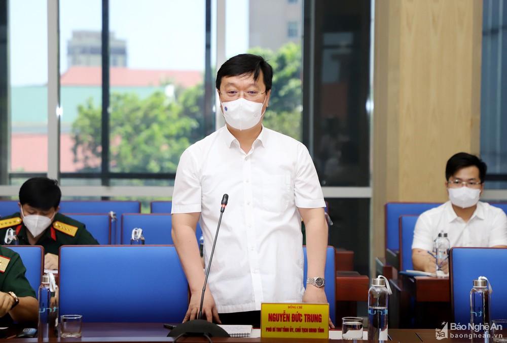 Thứ trưởng Bộ Y tế: Nghệ An tiếp tục nâng công suất xét nghiệm, quan tâm phòng dịch COVID-19 ở khu công nghiệp - Ảnh 3.