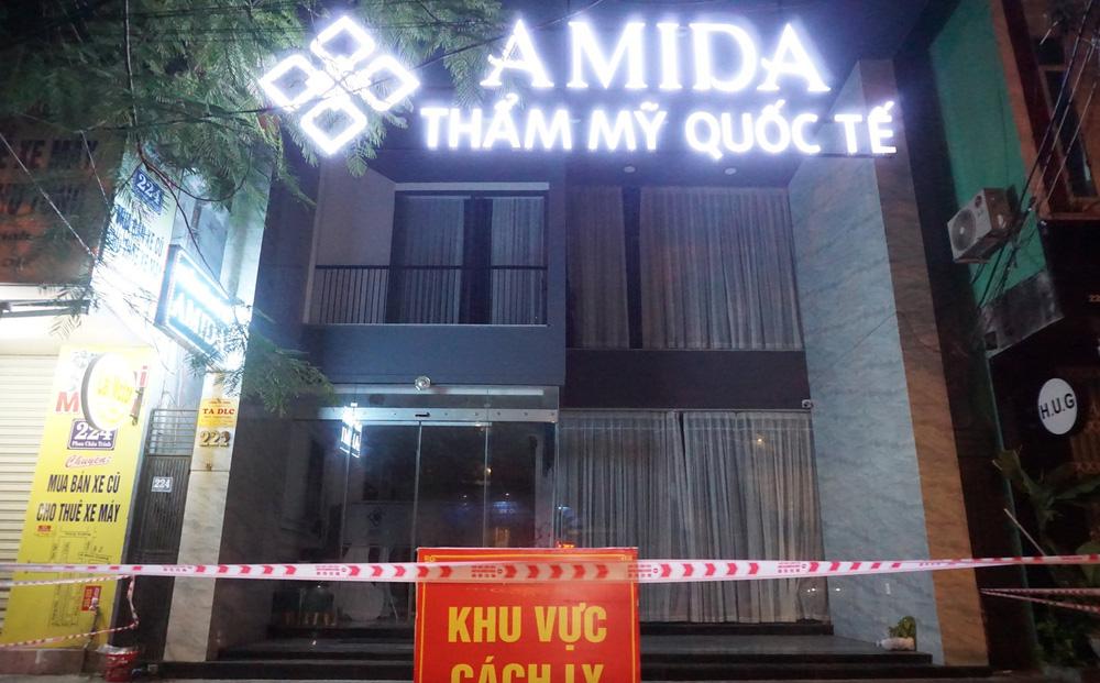 Giám đốc thẩm mỹ viện AMIDA bị khởi tố vì làm lây lan dịch Covid-19