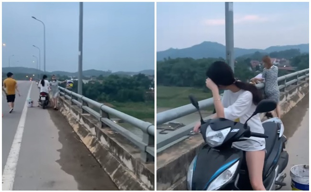 """2 cô gái đổ rác xuống sông, người dân quay clip cười chê: """"Đẹp thế này mà làm ô nhiễm cả dòng sông"""""""