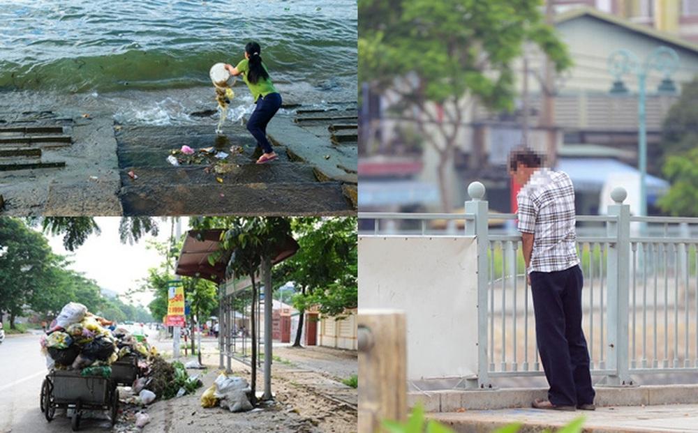 MỚI: Giảm mạnh mức xử phạt các hành vi xả rác, tè bậy nơi công cộng từ 10/7
