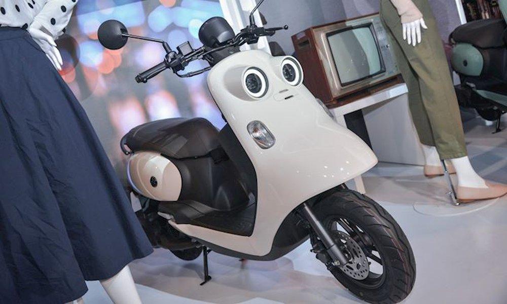 Xe máy Yamaha tiết kiệm xăng, thiết kế lạ chưa từng có, sẽ đấu Honda Vision? - Ảnh 8.