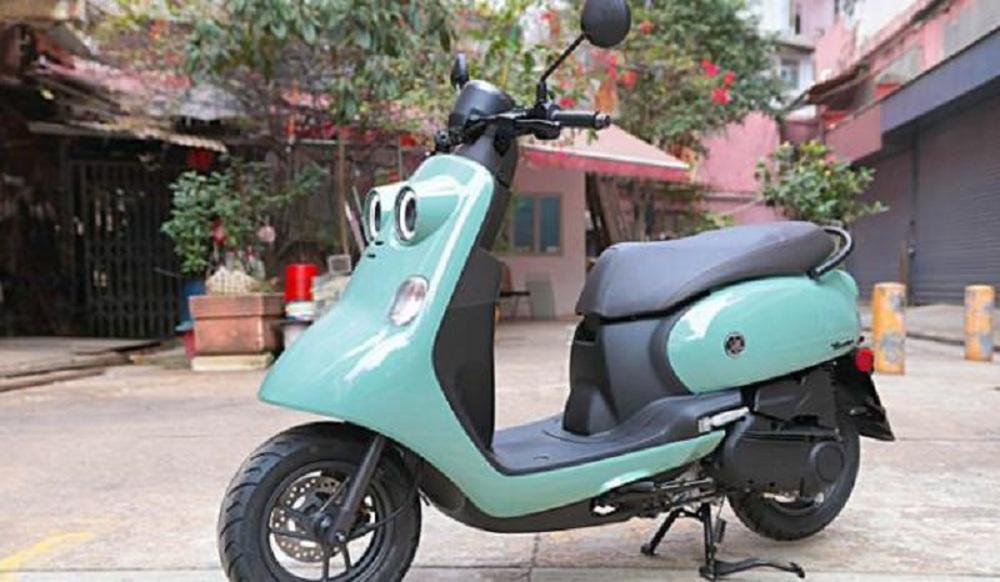 Xe máy Yamaha tiết kiệm xăng, thiết kế lạ chưa từng có, sẽ đấu Honda Vision? - Ảnh 5.